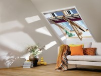 Fenêtre de toit GGL C04 finition bois 55x98cm VELUX