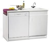 Meuble lave vaisselle 2 portes 77x60x82cm NEOVA