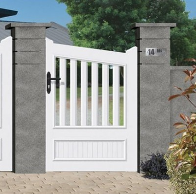 Portillon ORION PVC blanc 1400x1060mm