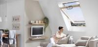 Fenêtre de toit à rotation ROTO Q 114x118cm ROTO