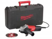 Meuleuse sans fil Ø125mm 28V Li-Ion sans batterie ni chargeur en coffret Dynacase MILWAUKEE