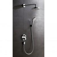 Pack Design ShowerSet Croma Select E / Ecostat E chromé HANSGROHE