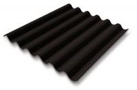 Plaque COLORAGRI 6 ondes standard noir asphalte 158x1095