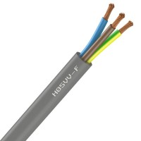 Câble H05VV-F 3G2.5 gris R100 NEXANS
