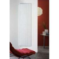 Radiateur FASSANE vertical simple eau chaude blanc 489W