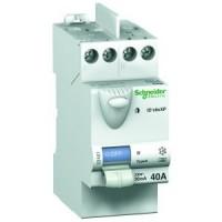 Interrupteur différentiel ID CLIC 2P 40A AC SCHNEIDER