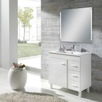 Miroir à LED en aluminium 15Watt OZE