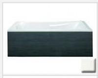 Tablier latéral décor PVC Blanc pour baignoire acrylique 75x54,5cm - JACOB DELAFON