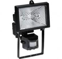 Projecteur Eco halogène noir 100W SLID
