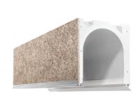 Caisson COFFRALUX demi linteau 2500mm largeur tableau 2500mm PROFALUX