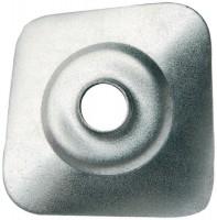 Plaquette galvanisée 40x40x8,5mm boîte de 40