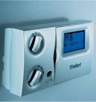 Thermostat VAILLANT digital hebdomadaire 2 circulaires avec sonde extérieure et départ VRC 420S