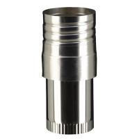 Raccord flexible émaillé à visser 150-150mm