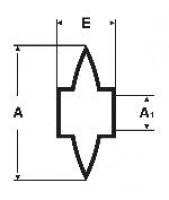 Molette pour coupe tube fer VIRAX