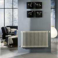 Radiateur TEOLYS horizontal 3 colonnes 18 éléments 1171W 600x900mm FINIMETAL