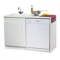Meuble lave-vaisselle 1porte 57cm NEOVA