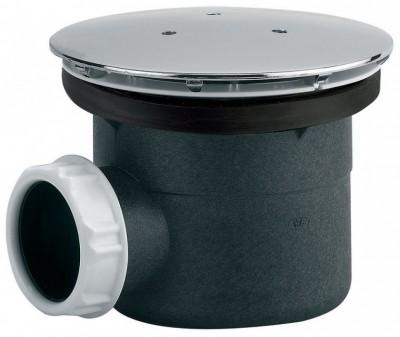Bonde de douche plastique à visser ou à coller LT diamètre 90mm 230x340mm VALENTIN