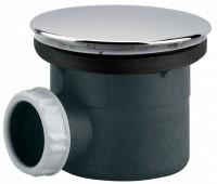 Bonde de douche plastique sortie horizontale diamètre 90mm VALENTIN