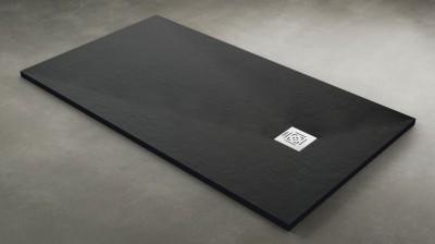 Receveur de douche DAILYO béton anthracite 140x80cm