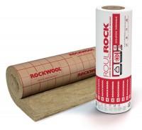 Panneau laine de roche revêtue Roulrock kraft roulé - 2,4x1,2m ép. 200mm - ROCKWOOL