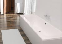 Baignoire rectangulaire DUO CONCERTO 3 acrylique blanc 170x75cm