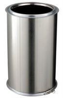 Elément droit inox diamètre 200mm longueur 45cm ED450-200I POUJOULAT
