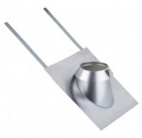Solin inox 30°-45° ardoise diamètre 200mm POUJOULAT