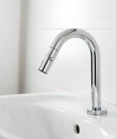Robinet lave-mains DESIGN simple eau froide 6x146x254mm