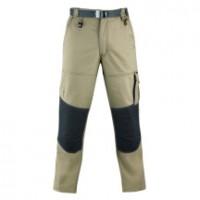 Pantalon mojave coton beige/gris taille XL KAPRIOL