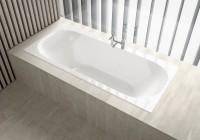 Baignoire ACANTO blanc 170x75cm ALLIA