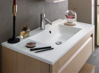 Plan vasque en TOP SOLID blanc mat 46x90cm DELPHA