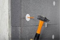 Chevilles à frapper ISO dimensions 10x210mm tête diamètre 60 isolation boîte de 200 SPIT