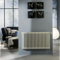 Radiateur TEOLYS horizontal 3 colonnes 18 éléments 1429W 750x900mm FINIMETAL