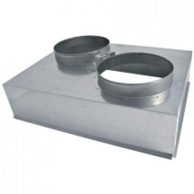 Plénum métal pour grille 625/400 AGI177 PEYRE