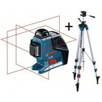 Niveau laser lignes GLL 3-80 P + trépied BT 250 ROBERT BOSCH