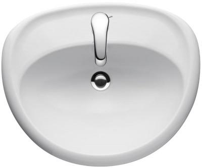 Vasque à Encastrer Brive L580xl470xh150mm 1 Trou Blanc Jacob Delafon
