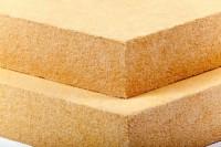 Panneau isolant en fibre de bois Isonat Fiberwood Multisol 140 épaisseur 60mm bord feuilluré 1872x572mm R=1,45 m².k/w ISONAT