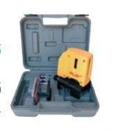 Equerre laser intérieur PLS90 117848 + coffret + 2 cibles magnétiques 13x6x12,5cm GEOMAX