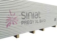 Plaque de plâtre BA13 PREGY XL 2,4x1,2m SINIAT