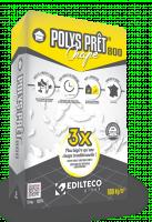 Mortier POLYS prêt 800 Chape 23l EDILTECO