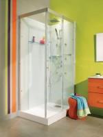 Cabine de douche DOMINO 120x90cm confort