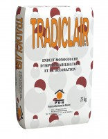 Enduit TRADICLAIR sac 25kg PRB