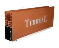 Caisson monobloc sous-face PVC 524x200x2400mm TERREAL