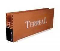 Caisson monobloc sous-face PVC 524x200x1400mm TERREAL