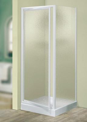 Paroi pivotante PRIMEO 80cm (78-82cm) verre granité