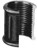Manchon fonte malléable 240 galvanisée 50-40 ATUSA