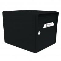 Boîte à lettres 1 porte noir RAL9005
