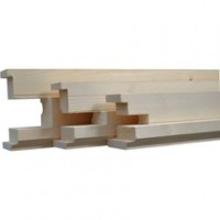 Montant huisserie sapin 2170 70x60mm