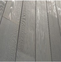 Bardage Western Red Cedar NEW AGE chanfrein abouté brossé gris 102 18x130mm 4,40ml SIVALBP