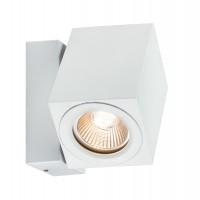Applique encastrée en saillie spécial Line 360° cube flame LED blanc aluminium kit de 1x7W 105x100x105mm PAULMANN LUMIERE